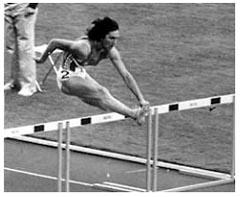 Български открития - Световен рекорд на 100 метра с препятствия