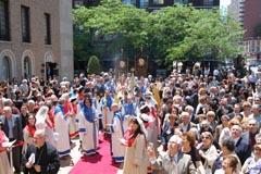 """Религиозното освещаване на обновената Арменска Катедрала в Ню Йорк """"Свети Вартан"""""""