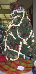 """В началото на декември Общинският административен център на Мария Папас в Даун Таун – Чикаго отново се преобрази от красивата, празнична, """"гора"""" – 90-те коледни елхи, които го украсиха."""