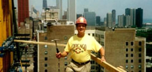 Стоян Улев е участвувал в строителството на 20 небостъргача и други високи сгради в Чикаго