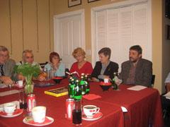 Среща на български литератори, художници, музиканти в LadyBug Book Café