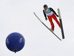 Първото злато на Игрите - Симон Аман, ски-скокове