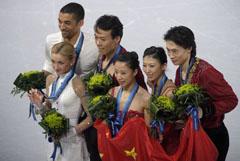 Китайски триумф във фигурното пързаляне