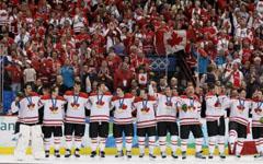 Хокейният отбор на Канада – олимпийски шампион