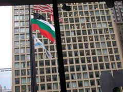 Чикаго е с българското знаме - всеки 3 март, всеки национален ден на България!