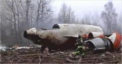 Катастрофиралият полски самолет