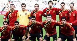 Футбол - Световна купа 2010 - отбори - Испания