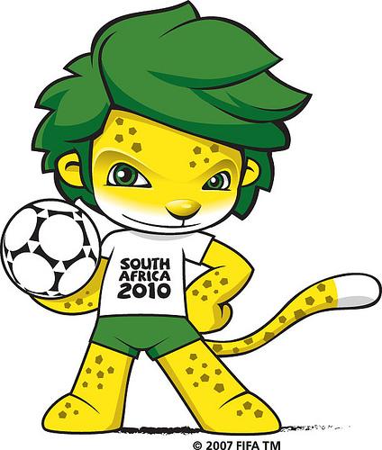 Футбол - Световна купа 2010 - Леопардът Талисман