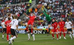 Световното първенство по футбол в Африка - Германия - Англия