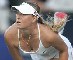 Шарапова – едно сибирско момиче в света на тениса...