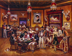 Бар Калифорния 1850