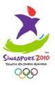 Емблемата на Игрите - Singapore 2010