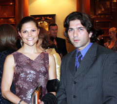 Принцеса Виктория и Христо Кузманов