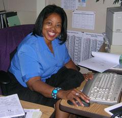 Barbara Slack секретар, асистент на директора