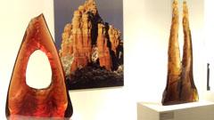 Peter Bremers - стъкло, Litvak gallery, Тел Авив, Израел