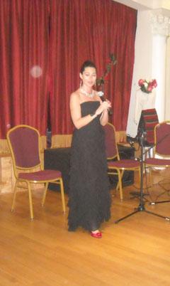 Българската оперна певица в САЩ Мариана Попзлатева