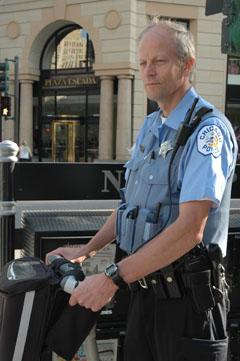 На среща с полицията