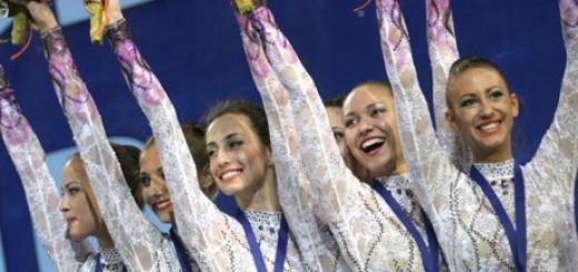 Ансамбълът по художествена гимнастика - второ злато на Световната купа