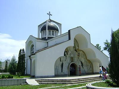 """България - Рупите - Храмът """"Света Петка"""""""