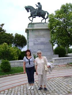 Гърция - Кавала - паметника на Мехмед Али
