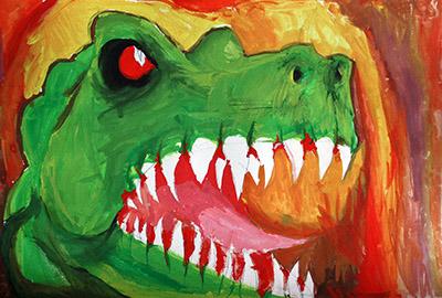 Портрет на тиранозавър Рекс