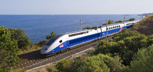 TGV train - Франция