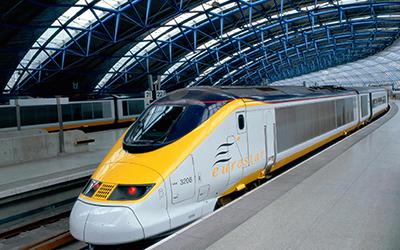 Eurostar train - Лондон