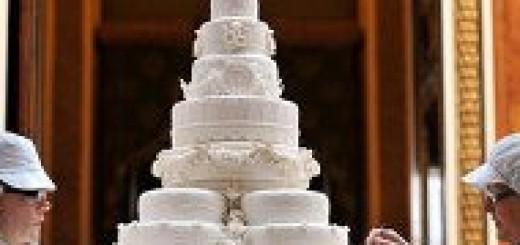 Най-скъпите сватбени торти