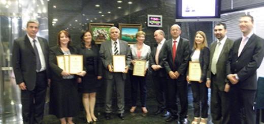 Призьорите в класацията за успешни служби по търговско-икономически въпроси СТИВ-2013