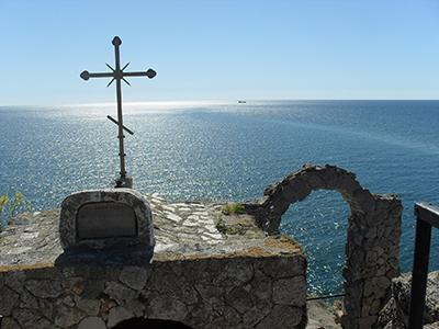Калиакра - параклис Свети Никола