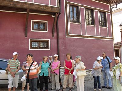 По улиците на Стария град - Пловдив