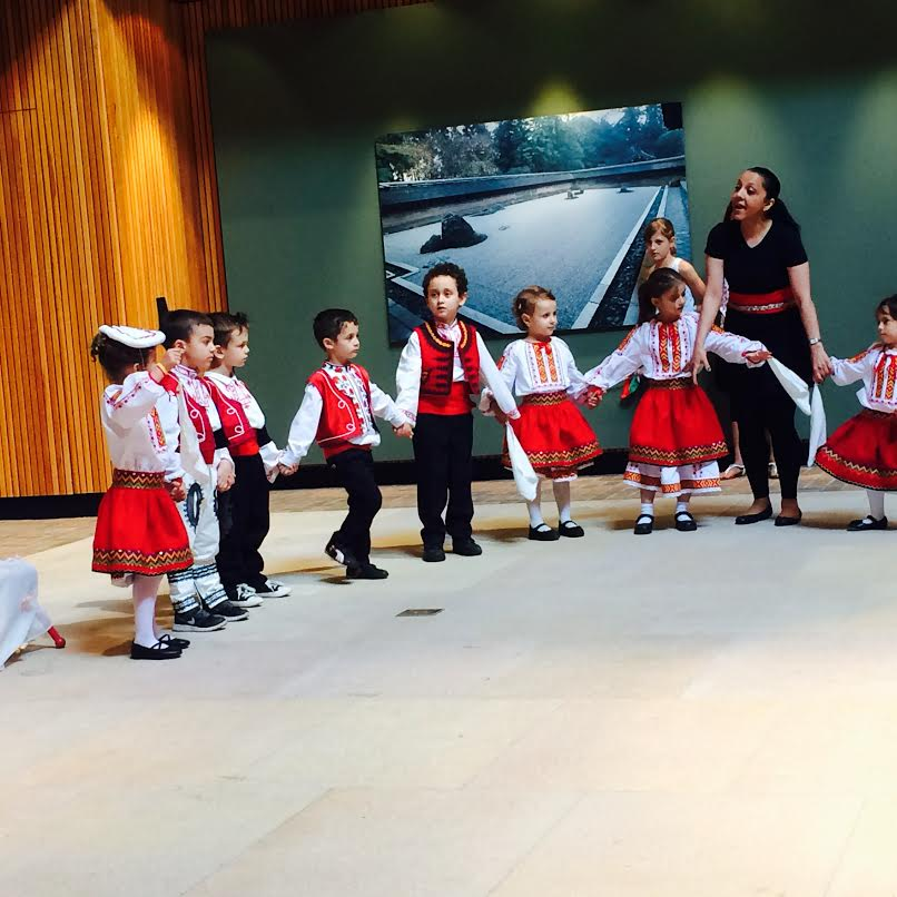 Celebrate Bulgaria - Chicago botanic garden - 2015