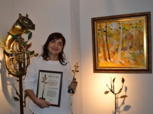 Златното клонче 2015 за Проф. Петя Бъговска