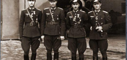 български летци - Божурище, 1943 г